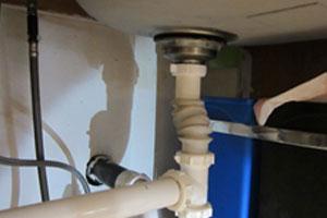 Incorrect plumbing